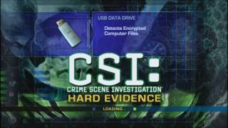 CSI: Hard Evidence Training Level