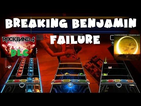 Breaking Benjamin - Failure - Rock Band 4 DLC Expert Full Band (October 13th, 2015)