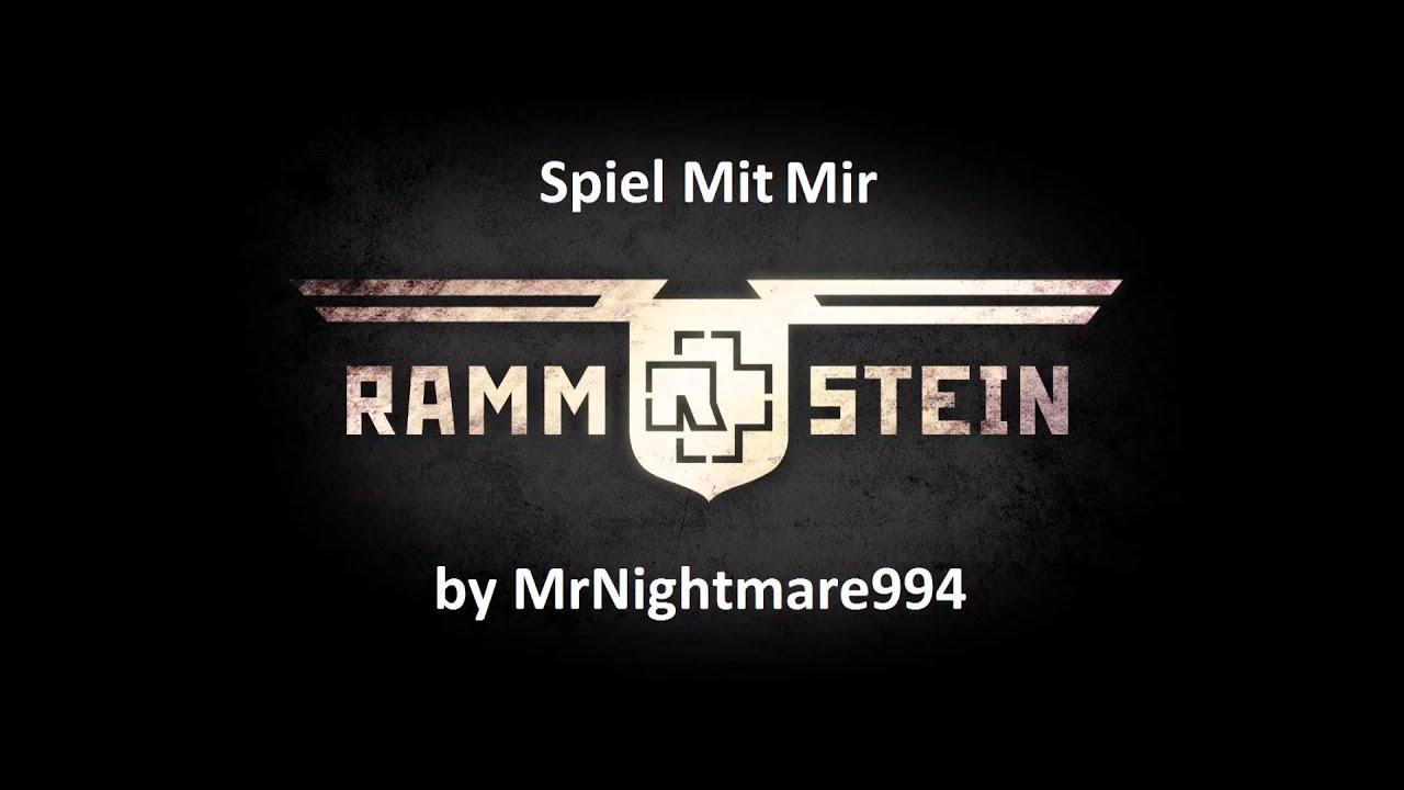 Скачать mp3 rammstein spiel mit mir