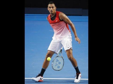 Kyrgios Top 5 Tennis Points, Monfils plus reverse tweener lob winner vs Nishikori