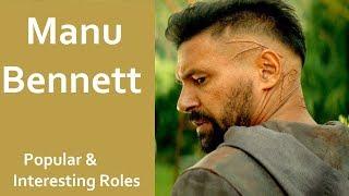 Interesting roles Played by Manu Bennett | Azog | Crixus  | Allanon | Slade Wilson
