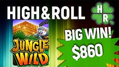 Play Jungle Wild Slot Machine Online  (WMS) Free Bonus Game