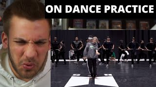 ITS SO POWERFUL!!! [CHOREOGRAPHY] BTS (방탄소년단) 'ON' Dance Practice - Reaction