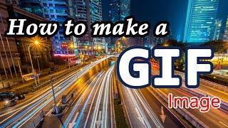 كيفية جعل صورة GIF متحركة في فوتوشوب