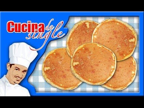 Pancake - RICETTA SEMPLICISSIMA!!! - YouTube