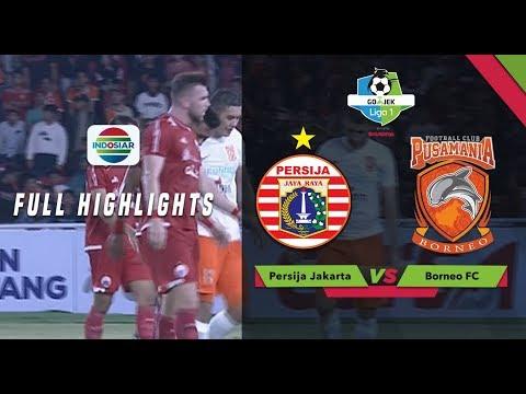 PERSIJA (2) vs BORNEO FC (0) - Full Highlight | Go-Jek Liga 1 bersama Bukalapak