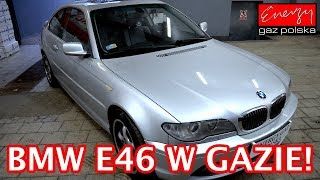 Montaż LPG BMW 325 e46 2.5 192KM 2004r w Energy Gaz Polska na gaz KME NEVO
