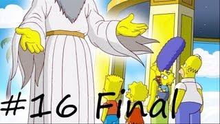 Les Simpson Le Jeu - épisode 16 :  Fin de la partie | [Xbox 360] Let's play HD Français