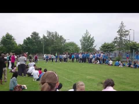 Sports day in Holy Family School