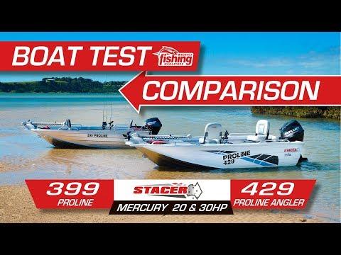 Compared | Stacer 399 Proline and 429 Proline Angler