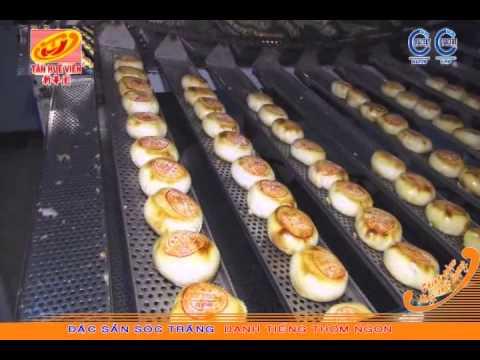 Dây chuyền sản xuất Bánh Pía
