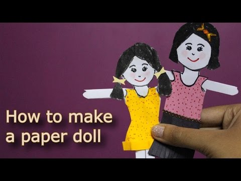 how-to-make-a-paper-doll-|-kids'-craft-|-craftosphere-episode-1