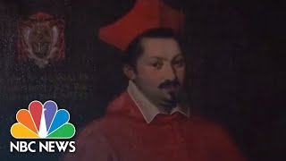 Stolen Christopher Columbus Letter Returned From U.S. To Vatican | NBC News