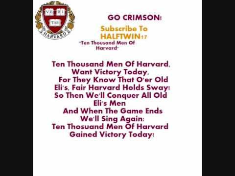 Harvard Fight Song - YouTube