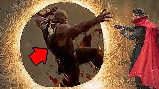 Вот Почему Стрэндж не отрезал руку Таноса с помощью портала - Настоящая причина!