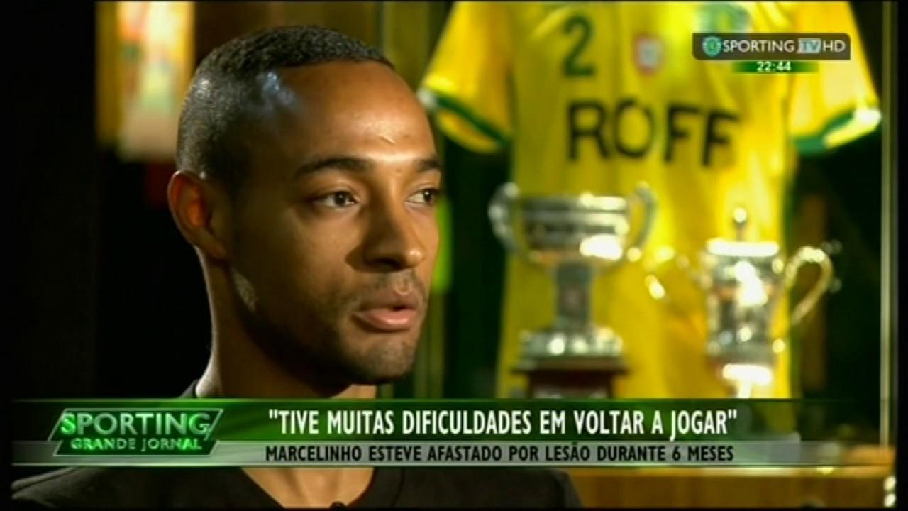 Marcelinho despede-se de Alvalade no final da época 2014/2015
