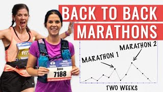 How To Tackle Bąck To Back Marathons