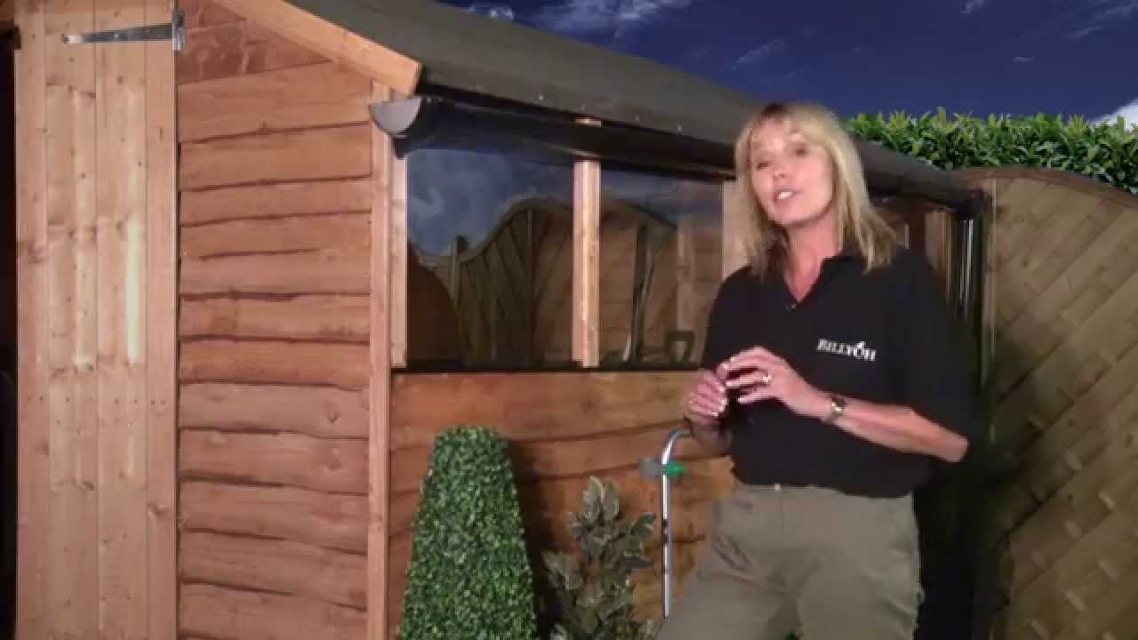 How To Choose The Best Type Of Shed Guttering Youtube