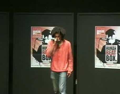 Badok at french beatbox championship 2006