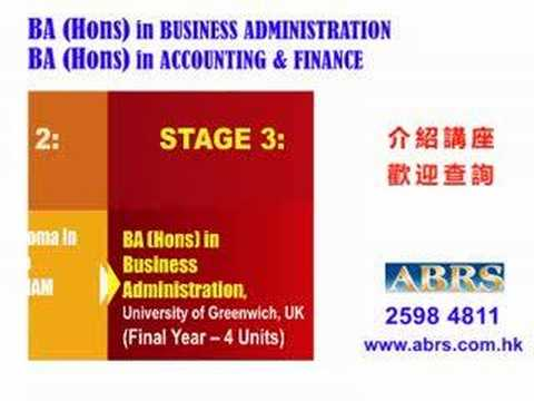 Courses on Business Administration & Accounting and Finance