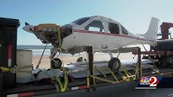 Pilot crash landed in ocean to avoid hurting Daytona Beach Shores beachgoers