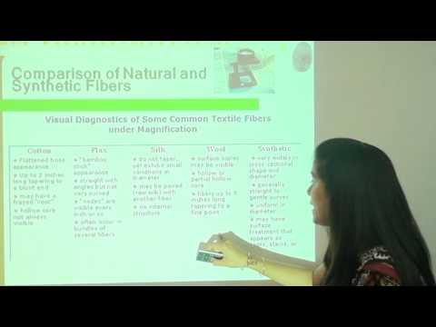 RM FT FTMU Textile Introduction & Classification of Fibre and Yarn | Rai University Video Lectures