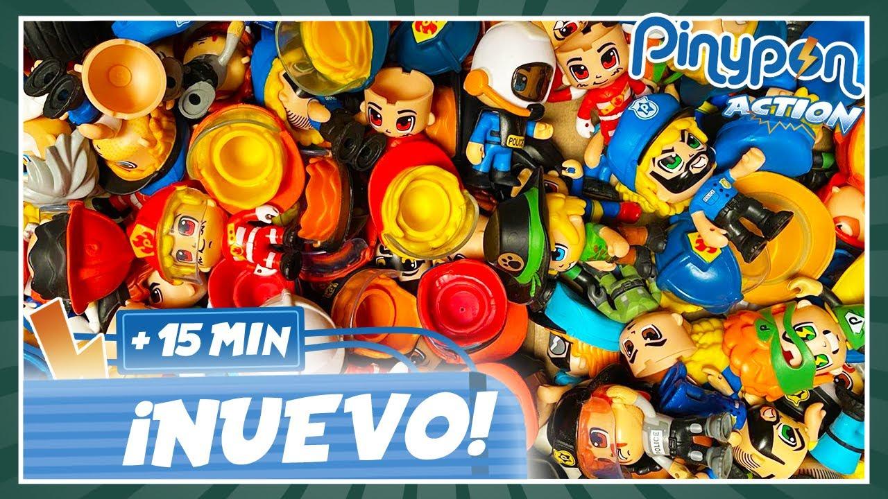 Jugamos con MILES de PIEZAS en Pinypon Action 🤪😂 CAPÍTULOS COMPLETOS + 15 MIN