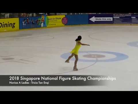 2018 Singapore National Figure Skating Championships  Tricia Tan Novice A Ladies