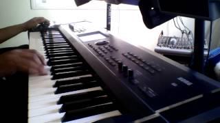 عزف اورغ اغنية علّي الكوفيه - محمد عساف