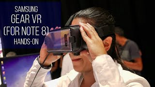 Samsung Gear VR for Note 8 hands-on
