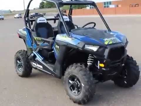 2017 Polaris Rzr 900 Blue Fire Walk Around