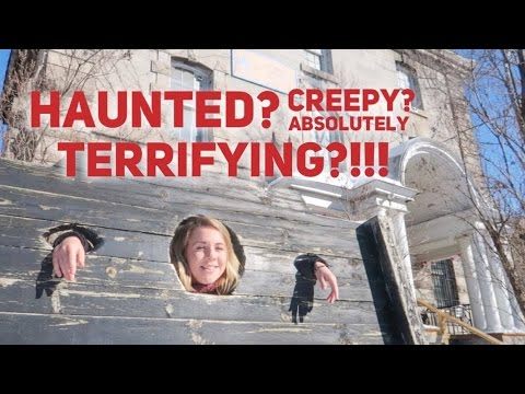 OTTAWA - STAYING IN A HAUNTED PRISON 😱🔗🔪