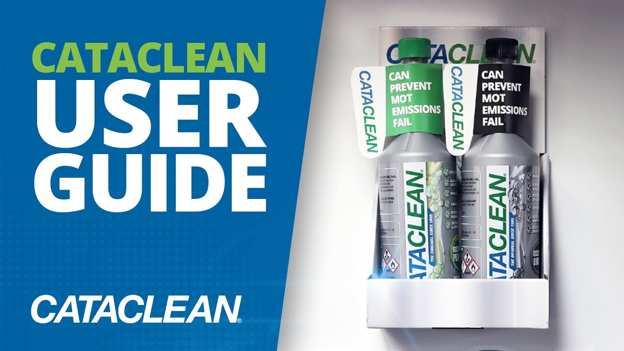 Cataclean User Guide Youtube