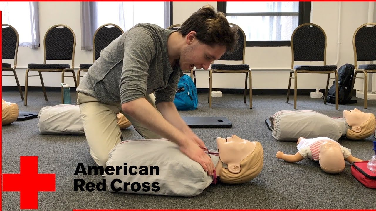 American Red Cross First Aid Cpr Aed Training Youtube