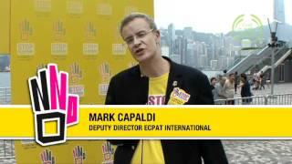 Stop Sex Trafficking - Hong Kong handover - The Body Shop