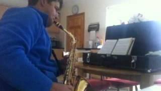 Ccb Sax alto (irmão aprendendo)