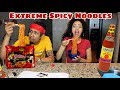 EXTREME 2X SPICY RAMEN NOODLES CHALLENGE!! (PLEASE DONT DO THIS!!)