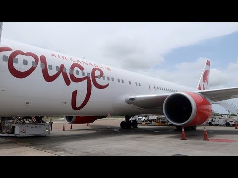 A Totally UNACCEPTABLE Business Class Experience. Air Canada Rouge, Punta Cana To Montreal, B767