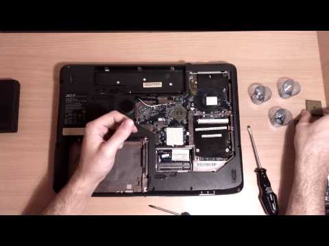 acer aspire 7520 disassembly