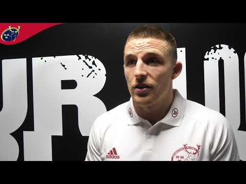 Andrew Conway Reaction Following Ospreys Win