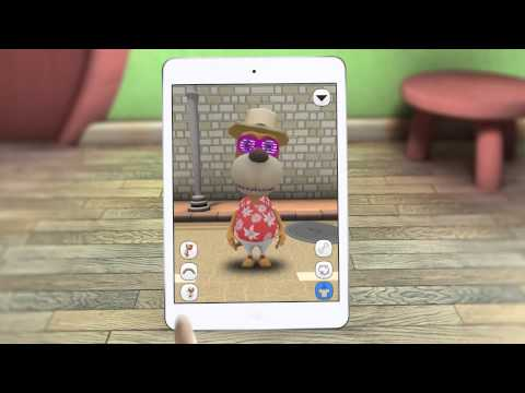 Talking Dog Max - My Cool Virtual Pet Friend Free Animal Games for Kids
