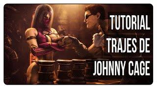 MKX | Desbloquear todos los trajes/skins de Johnny Cage | Tutorial
