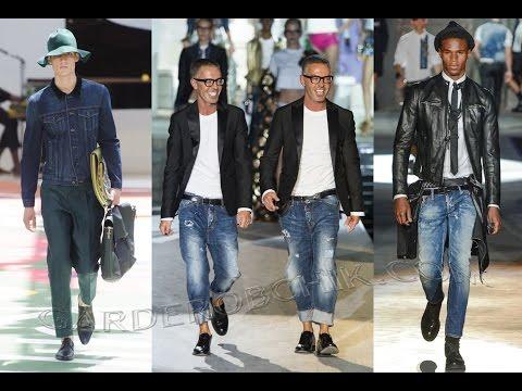 Модные Мужские Джинсы - 2017 / Fashionable mens jeans