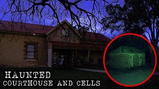 CHILLING Night in Haunted Courthouse   Melrose Museum Paranormal Investigation   Part 1