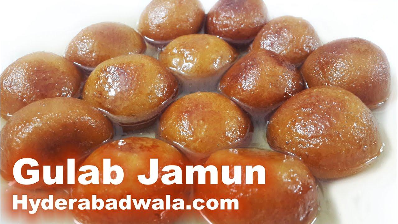 Gulab Jamun Recipe Video How To Make Gulab Jamun Sweet At Home Easy Simple Youtube
