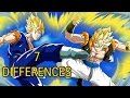 Download Video 7 Differences Between Gogeta And Vegito