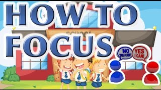 Improve Your FOCUS in School | Learning Study Skills Tips for Students in Class to Get Better Grades