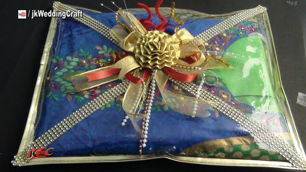 Wedding Gift Packing Ideas For Bride : Easy Gift Packing Ideas for Wedding Trousseau How to pack Indian ...