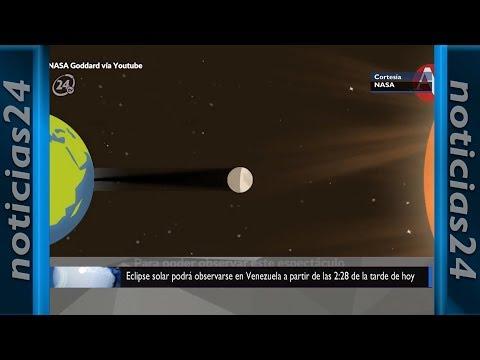 Eclipse solar podrá observarse en Venezuela a partir de las 2:28 de la tarde de hoy (+detalles)