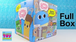 Yummy World Snack Attack Kidrobot Collectible Keychains Unboxing | PSToyReviews